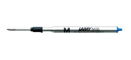 Repuesto Boligrafo M16, Tinta Azul Trazo Medio - Lamy