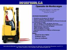 Curso Operador De Montacargas (certificación)