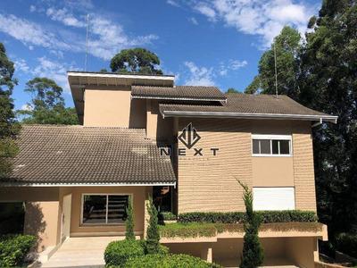 Casa Com 4 Suítes Para Venda Ou Locação, 948 M² No Residencial Tamboré 1 (alphaville) - Sp - Ca0017