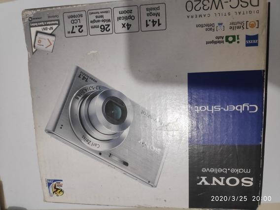 Câmera Sony Cybershot Dsc-w320 14.1