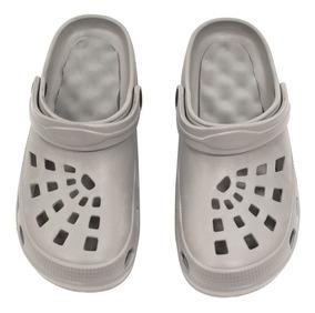 Zapatos Suecos Reflexología Gris Claro Unisex 9 Walkgym