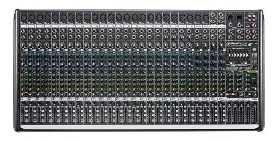 Mesa Som 30 Canais Mackie Mixer Pro Fx30 V2 Maxcomp Musical