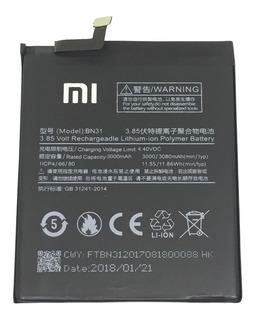 Bateria Xiaomi Mi A1 / Mi5x / Redmi S2 / Note 5a Modelo Bn31
