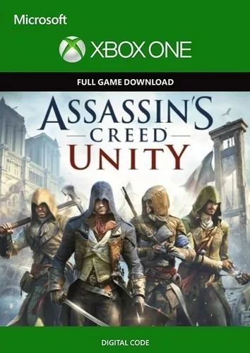 Assassins Creed Unity P/ Xbox One Mídia Digital 25 Dígitos