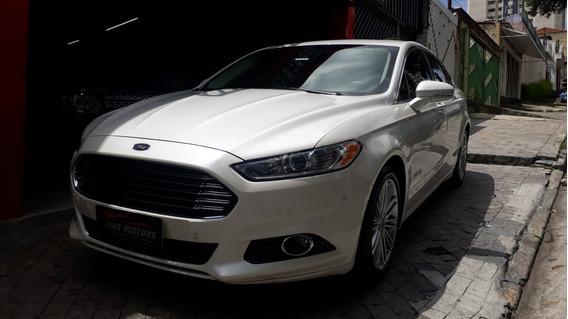 Ford Fusion Titanium Hybrid 2014 Impecavel
