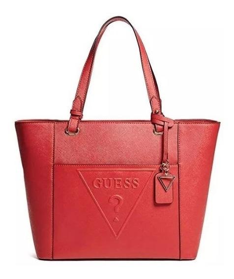 Bolsa Guess Vermelha Chandler 100% Original Importada Usa