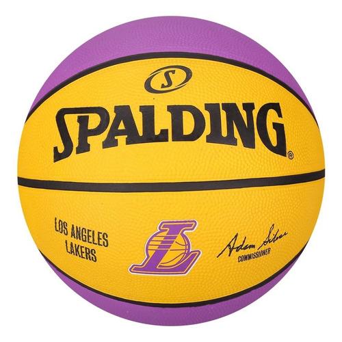 Pelota De Basquet Spalding Team Lakers Los Angeles Nba Nº 7