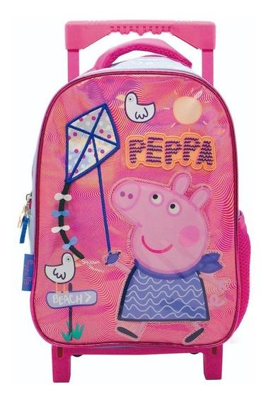 Mochila Con Carrito Peppa Pig Jardin 12 P Cresko @ Mca