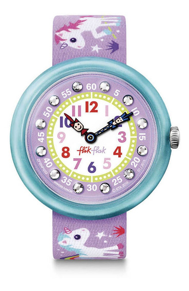 Reloj Swatch Flik Flak Fbnp033 Magical Unicorns