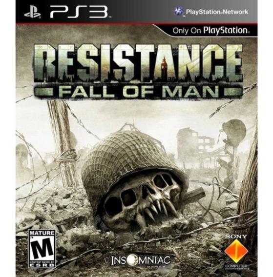 Resistance Fall Of Man - Jogos Ps3 Playstation 3
