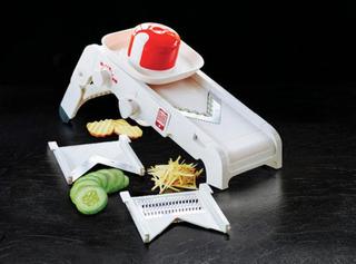 Mando Chef. 8 Cortes - 2 Cuchillas Intercabiables