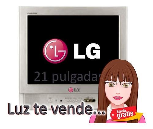 Imagen 1 de 4 de Televisor LG De 21´ / Salida Frontal-atrás Ref:21fb32