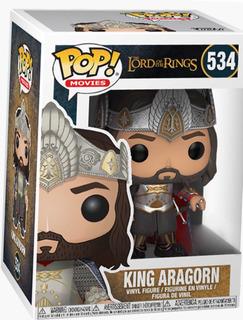 Figura Funko King Rey Aragorn Señor De Los Anillos Juguete