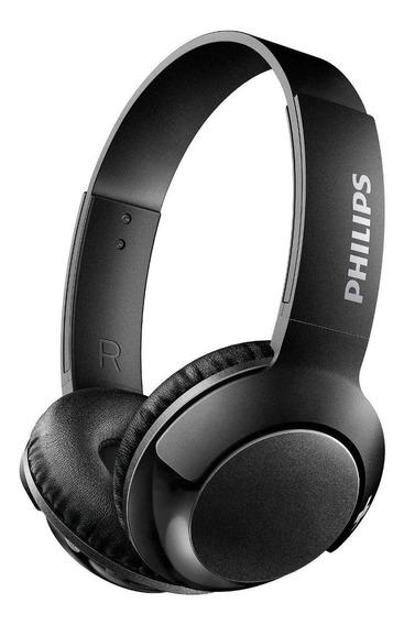 Fone de ouvido sem fio Philips SHB3075 preto