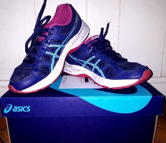 Zapatillas Asics Gel Contend 4 A Mujer Talle 37