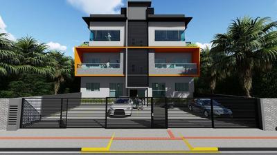 Apartamento Com 3 Dormitórios À Venda, Á 300m Da Praia, 69 M² Por R$ 170.000 - Itacolomi - Balneário Piçarras/sc - Ap0498