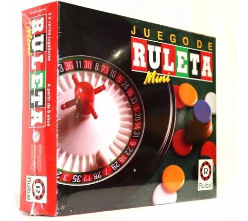 Ruleta Ruibal 1352 Juego De Mesa Original Viaje Educando