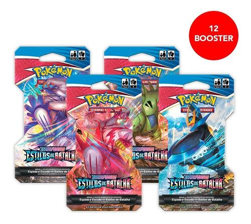 Card Game Pokémon Ee5 12 Blister Unitário Estilos De Batalha