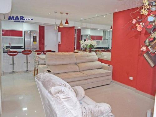 Imagem 1 de 14 de Apartamento Residencial À Venda, Centro, Guarujá - . - Ap10107