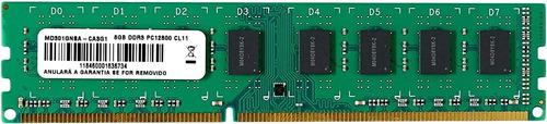 Imagem 1 de 1 de Memória Ram Ddr3 16gb 2x8gb - Multilaser Pcr-12800-mm810