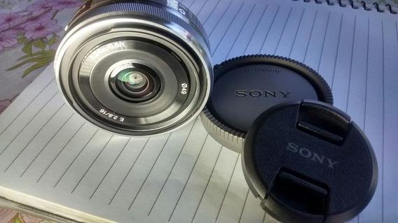 Lente Sony 16mm 2.8 E Mount