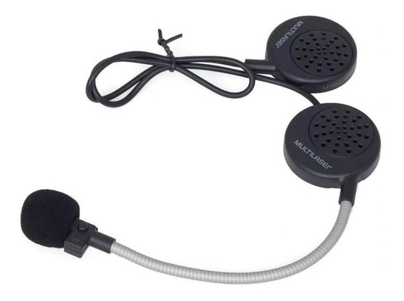 Fone Ouvido Capacete Moto Sem Fio Bluetooth Hi-fi Multilaser