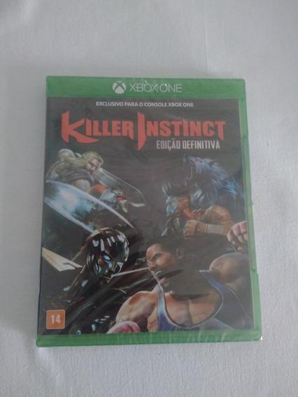 Killer Instinct Edição Deinitiva - Lacrado - Xbox One