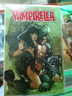 Vampirella Variante De Adam Hughes Exclusiva Frankies Comics