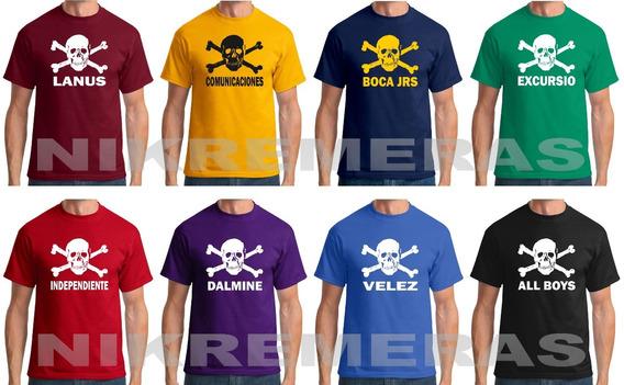 Remera Fc St Pauli,punk,camiseta,estampa Tu Equipo,argentina