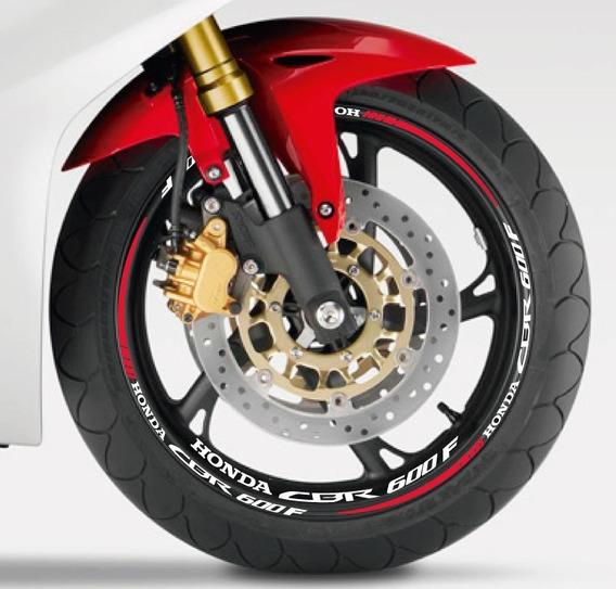 Adesivo E Friso De Roda Honda Cbr 600f (refletivos)