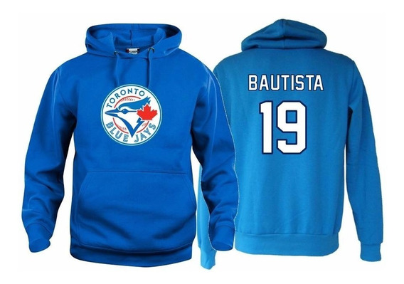 Sudadera Jose Bautista Jersey Toronto Blue Jays Mlb Azulejos
