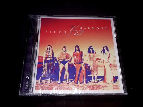 Fifth Harmony 7/27 Cd Original Nuevo Y Sellado