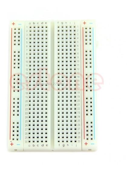 Protoboard Breadboard 400 Pontos Furos - Para Pic E Arduino