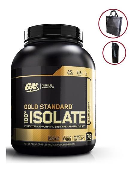 Gold Standard Isolate 5 Lb Proteína Limpia + Envío Gratis