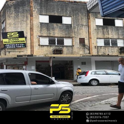 Imagem 1 de 5 de Prédio Para Alugar, 90 M² Por R$ 1.500/mês - Centro - João Pessoa/pb - Pr0036