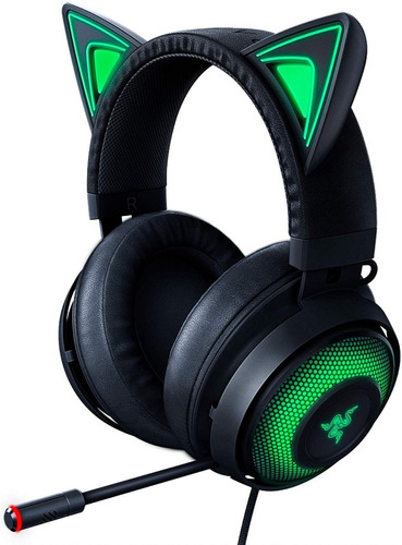 Auricular Gamer Razer Kraken Kitty  Black Edition Usb  Rgb