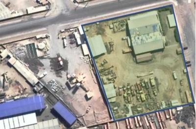 Extenso Sitio Con Instalaciones Industri