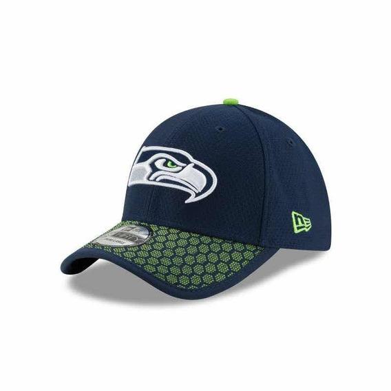 Gorra New Era 39 Thirty Seattle Seahawks Ch-med