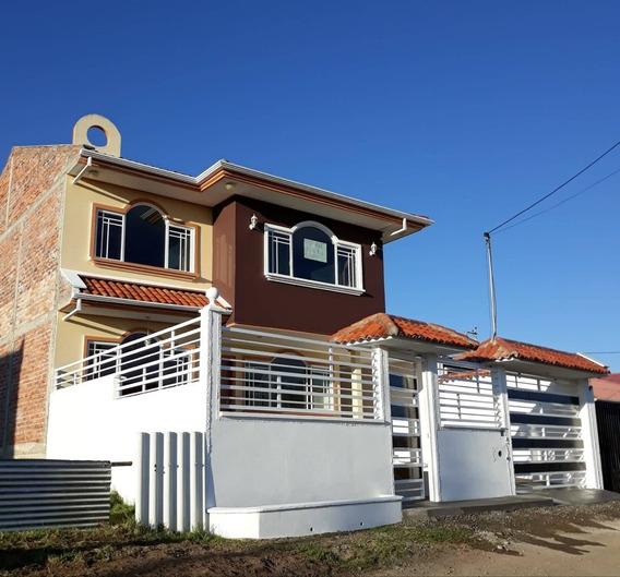 Vendo Hermosa Casa Por Estrenar En San Pedro De El Cebollar