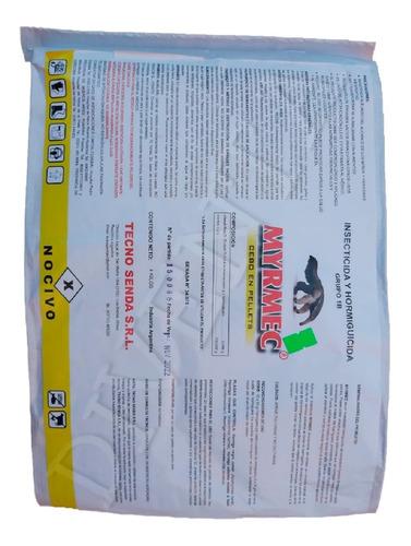 Imagen 1 de 4 de Bolsa 4kg Insecticida Hormiguicida Myrmec Cebo Pellets Nuevo