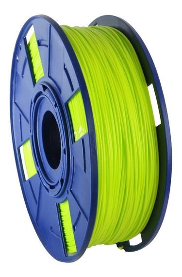 Filamento Pla 1,75mm 1kg Cor: Verde Limão