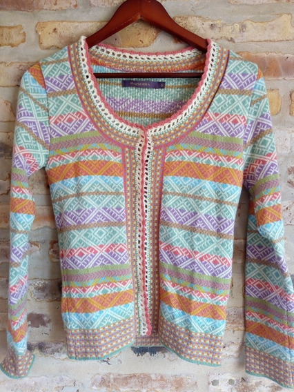 Saco Tejido Sweater Rapsodia Víctory - Talle S