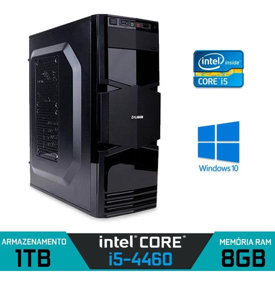 Computador Alfatec Intel Core I5-4460 Ram 8gb Hd 1tb Win 10