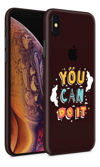 Skin You Can Do It Para Telefonos Apple iPhone