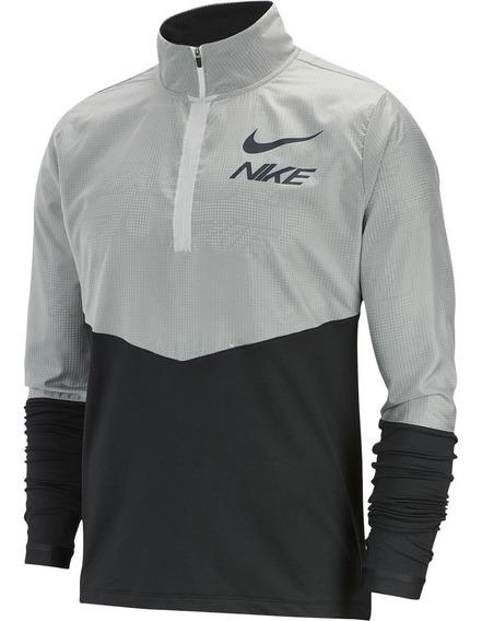 Sudadera Nike Running Medio Cierre Originales Con Etiquetas