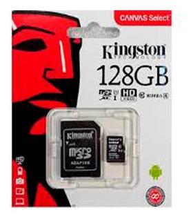 Micro Sd 128 Gb Kingston Sandisk Clase 10 Belgrano
