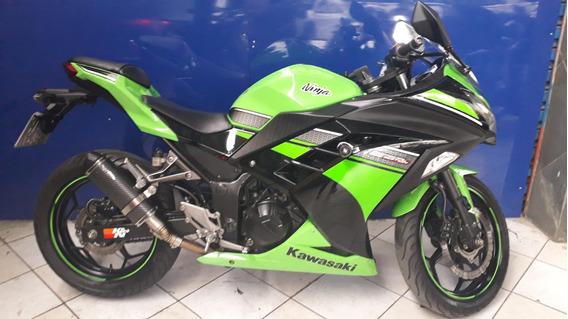 Kawasaki Ninja 300 Verde 2013