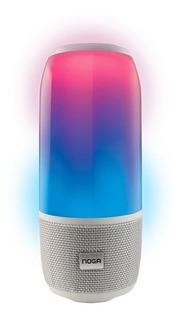 Parlante Bluetooth Noga Corvi 10w Led 360 Manos Libres