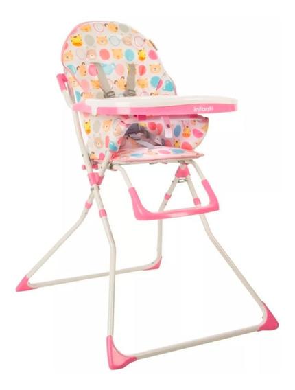 Silla De Comer Bebe Hc15 Infanti Doble Bandeja Babymovil
