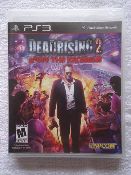 Dead Rising 2 Off The Record Ps3 ** Leia